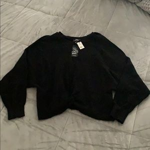 Express sweater - Black, Size L, New with tags